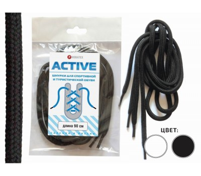Шнурок кроссовочный Active-1 для спортивной и повседневной обуви